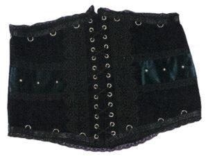 Korasge, schwarz