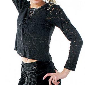 Damenrock in schwarz