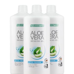 Aloe Vera Drinking Gel Active Freedom 3er Set