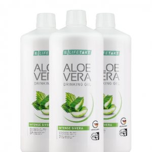 Aloe Vera Drinking Gel Intense Sivera 3er Set