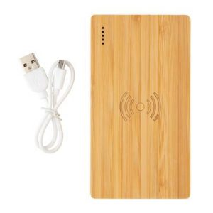 Bambus 4.000 mAh Wireless 5W Powerbank