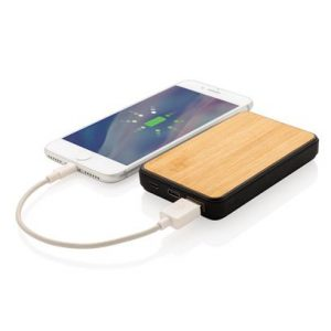 Bambus 5.000 mAh Fashion Pocket Powerbank
