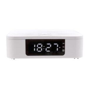 Wireless Charging Lautsprecher mit Zeitanzeige