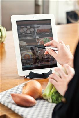 Chef Tabletständer mit Touchpen
