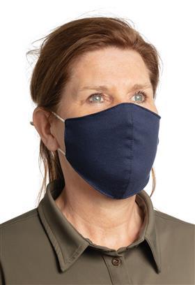 Wiederverwendbare 2-lagige Baumwoll-Gesichtsmaske