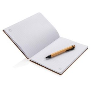 A5 Bambus Notizbuch & Stift
