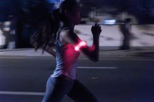 Sicherheitsband mit LED