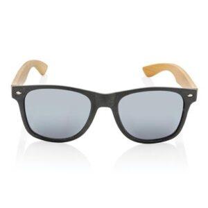 Weizenstroh und Bambus Sonnenbrille