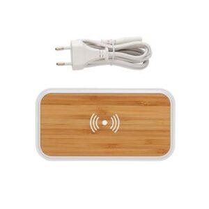 Bamboo 5W Wireless-Ladegerät mit 3 USB-Anschlüssen