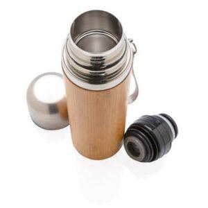 Auslaufsichere Bambus-Vakuumflasche