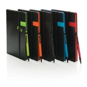 Deluxe 8GB USB Notizbuch mit Stylus